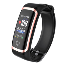 OUTMIX M4 Smart Bracelet Heart Rate Monitor Bluetooth Fitness Tracker Watch Calories Call Reminder Smart Band for Running Sport