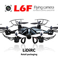 LIDIRC Remote Control Helicopter 2MP Camera  2.4GHz Frequency 6 Axis Gyro Quadcopter 4 Channels Coreless Motor LED Lights Dron