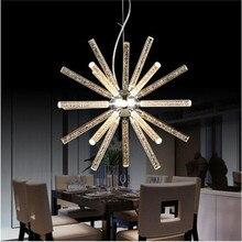 Nueva creativo led luces colgantes colgantes para shop bar comedor cocina sala de acrílico led lámpara de techo ac85-265v free gratis