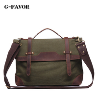 2016 New Arrival Fashion Canvas With Leather Men Messenger Bags Preppy Style School Bags Casual Black
