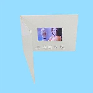 Image 2 - 4.3 Inch Nieuwe Video Brochure Kaarten Voor Presentaties Digitale Reclame Speler 4.3 Inch Scherm Video Wenskaart 256 M Op koop
