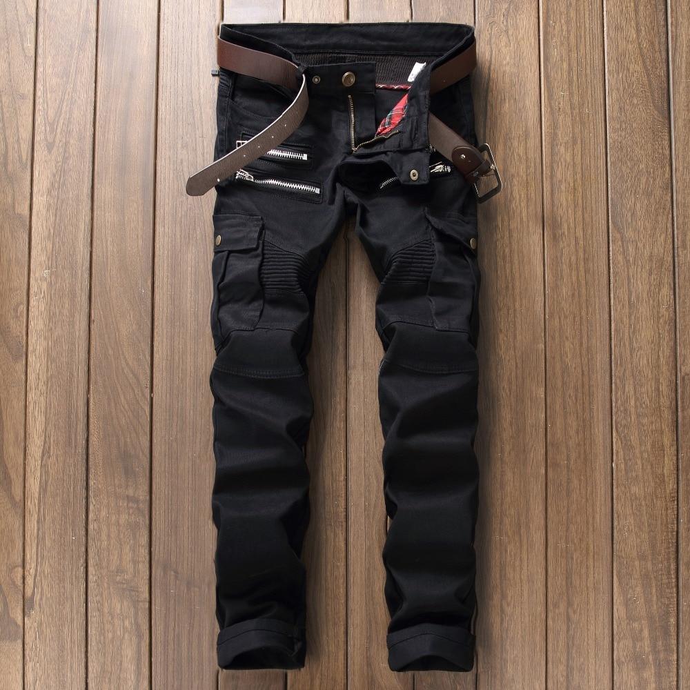 Mens jeans design legends jeans - Fashion Biepa Brand Ripped Straight Denim Jeans Men Pants Cotton Slim Skinny Men S Biker Jeans 2017