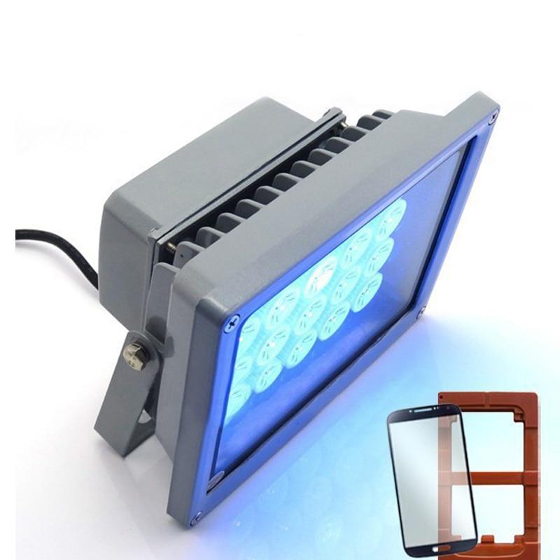 110V/220V Top grade UV curing lights Shadowless glue curing lights UV glue curing lights LED for phone scree uv glue dry