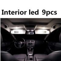 9pcs X Free Shipping Error Free LED Interior Light Kit Package For Vw Jetta Mk6 VI