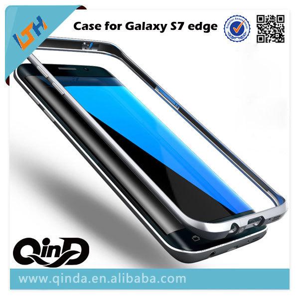 Venta caliente Nuevo Diseño estereoscópico 3D de Metal del caso del capítulo para Samsung galaxy s7 edge g9350 borde s6 s6 edge plus envío gratis