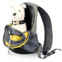 Pet Carrier Dog Carrier Pet Backpack Bag Portable Travel Bag Pet Dog Front Bag Mesh Backpack Head Out Double Shoulder Outdoor