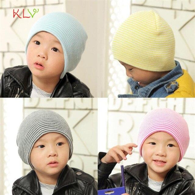 Baby Beanie Boy Girls Soft Hat Children Winter Warm Kids Knitted Stretchy  Cap 4M- 4Y Baby 17SEP25 e94de6f577a