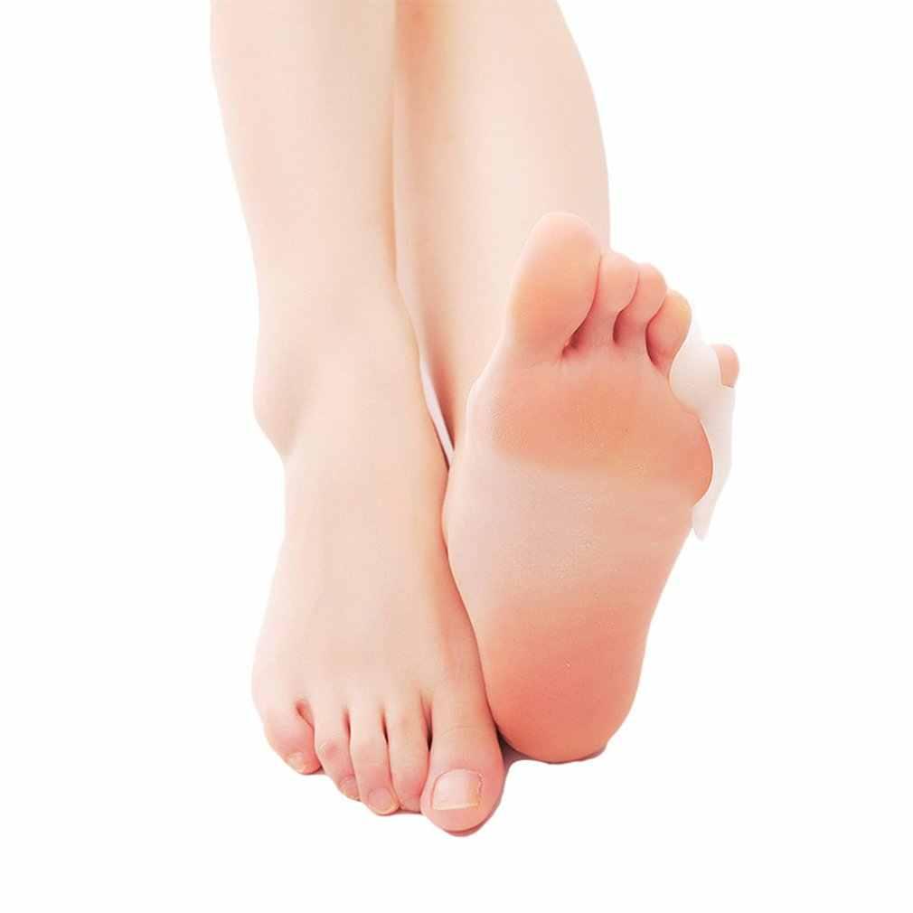 Ngón chân Orthosis Nhỏ Ngón Valgus Chăm Sóc Thiết Bị Ngón Chân 1 Lỗ Tai Thỏ Xỏ Ngón Silicone Mắc Cài