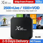 X96 mini IPTV Spain Arabic 4K Smart Android 7.1 TV Box 1 Year IUDTV Code French UK Spain Italia Norway X96mini IPTV Top Box