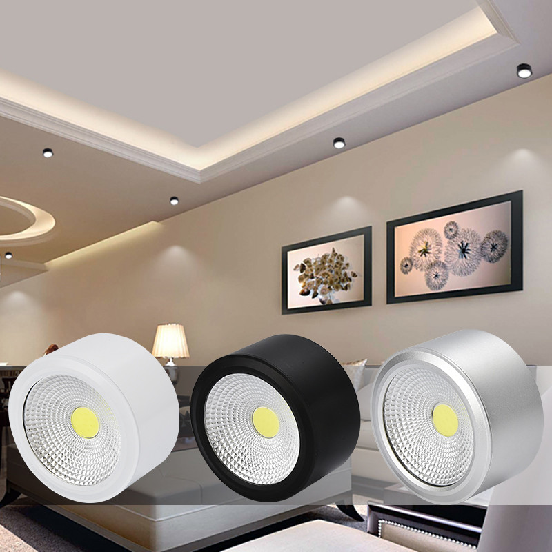 Downlights superfície montado downlights led 6 Comprimento : 85mm/108mm