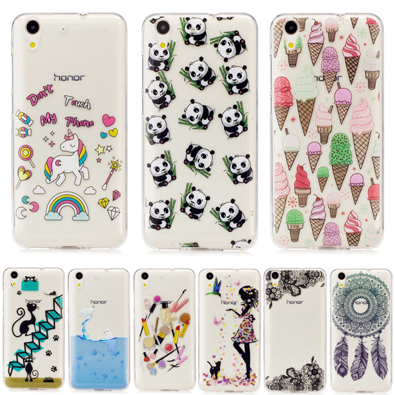 Transparent TPU CAM L21 L23 Case for Huawei Y6ii Y 6 Y6 II 2 Silicon Cover for Huawei Honor 5A 5 A CAM-L21 CAM-L23 Phone Case