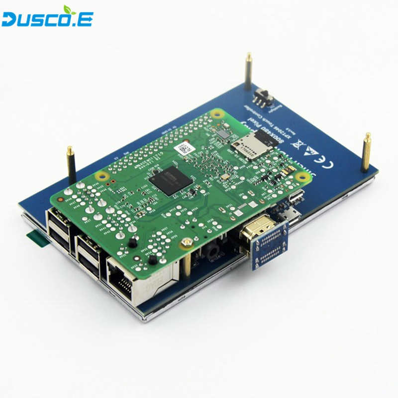 5 pouce LCD HDMI Écran Tactile Affichage 800x480 TFT LCD Module de Panneau avec Tactile Stylo pour Raspberry Pi 3 modèle B/B + Banane Pi chaude - 5