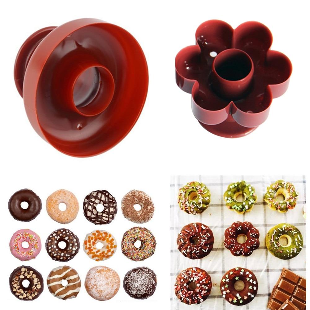 Прибор для изготовления пончиков из пищевых материалов