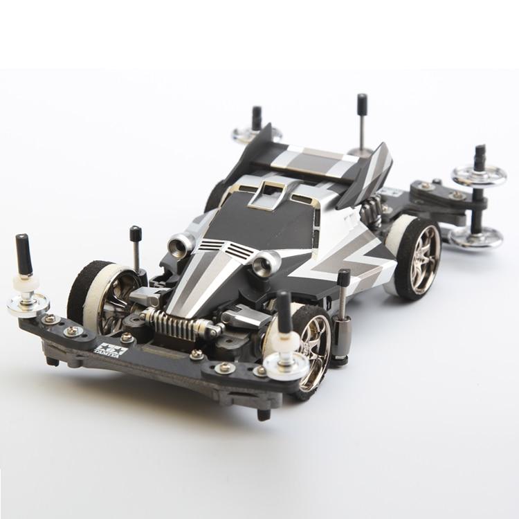 EVO Professional Remote Control 4WD Unassembled Racing Car Drift Mini RC Car Suspension KIT Frame. auldey 88010 abs racing car kit