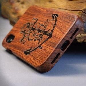 Image 5 - מגולף טייגר הדרקון יוקרה עץ טלפון מקרה עבור iPhone X XS Max XR 5 5S 6 6 בתוספת 6S 7 8 בתוספת iPhone se 2020 מלא עץ מקרה כיסוי