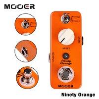 Mooer 2 Working Modes Vintage Modern Analog Phasing Tone Micro Ninety Orange Phaser Electric Guitar Effect