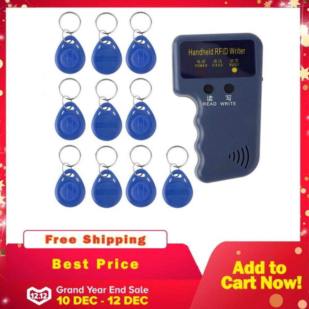 Worldwide delivery handheld 125khz rfid id card copier writer in