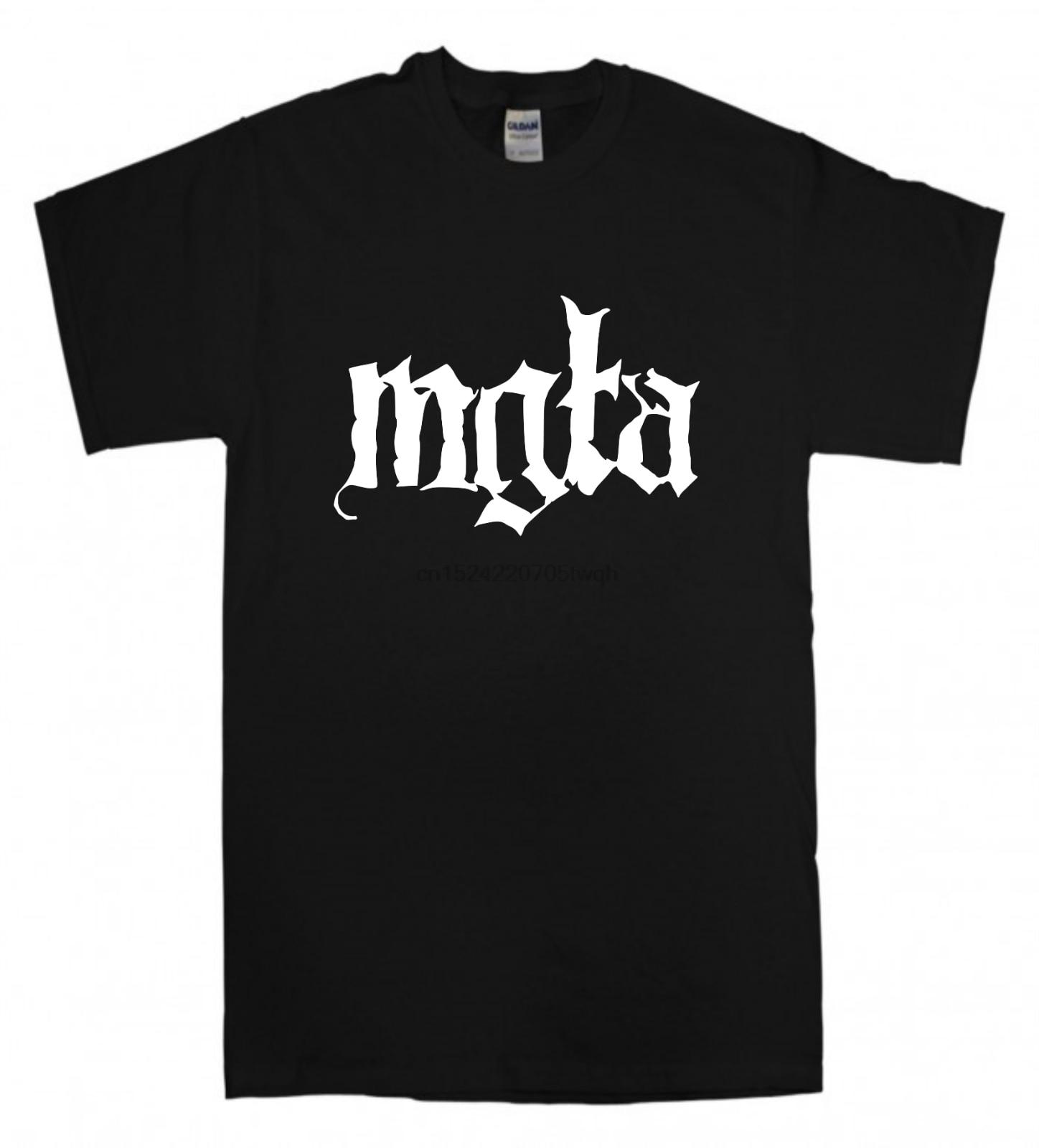 7074a49229 Mgla T-shirt New Black T shirt Black metal band Behemoth Emperor Dissection