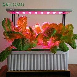 XKUGMD фитолампа с полным спектром Светодиодная лампа для выращивания растений 240 В лампа с зажимом для теплицы гидропоники растительного цве...