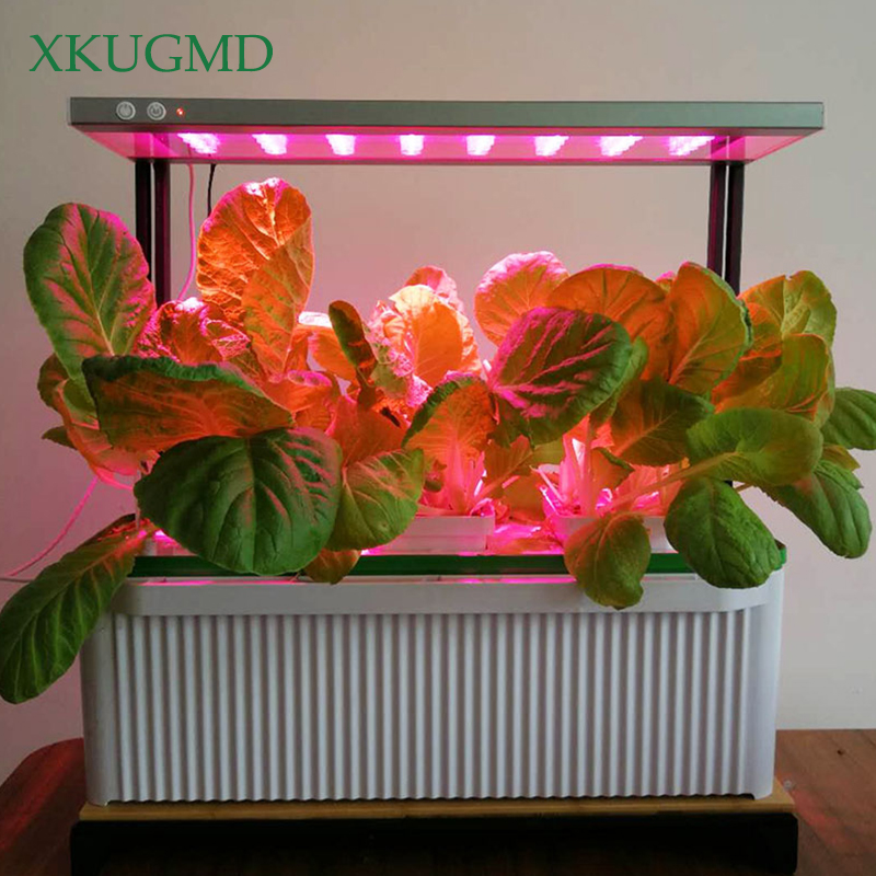 XKUGMD Phyto lampe LED à spectre complet lumière de croissance 240 V lampe de plante avec Clip pour serre hydroponique fleur végétale Fitolampy