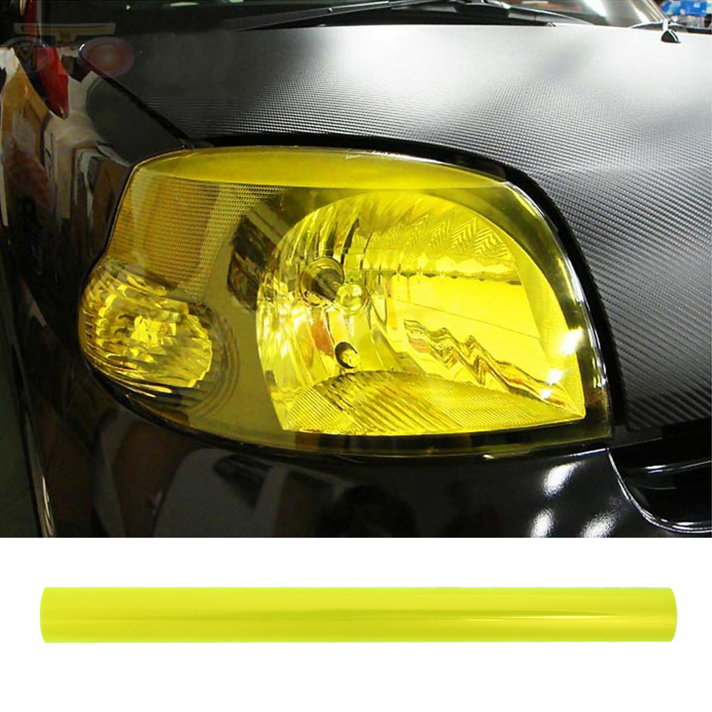 10 Colors Car Sticker Car Headlight Taillight Fog Light Tint Vinyl Film Sticker Change Light Color Film Lamp Sticker 30x100cm