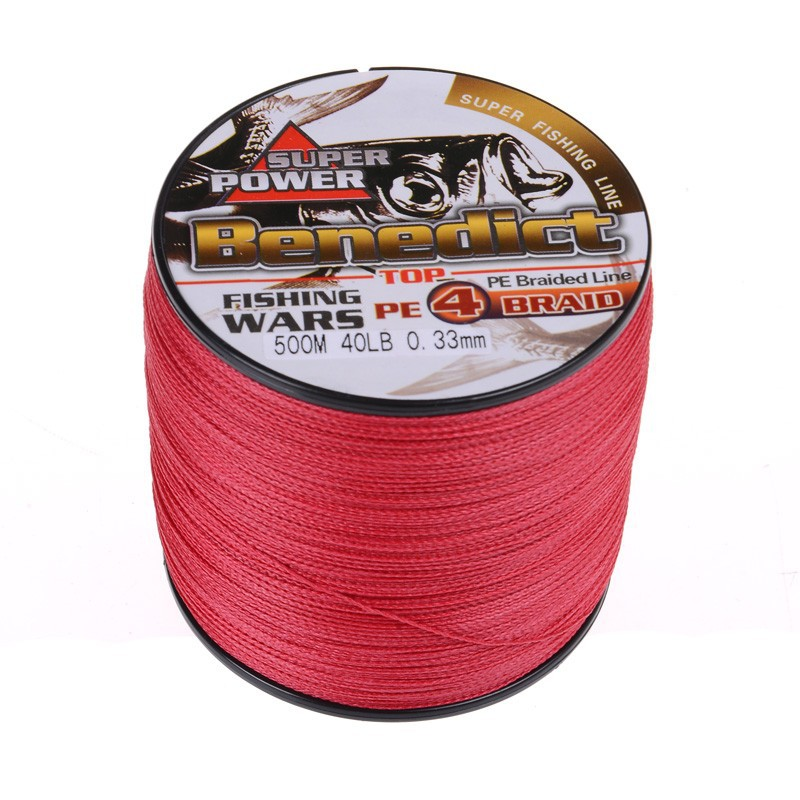 4 strands 500M red