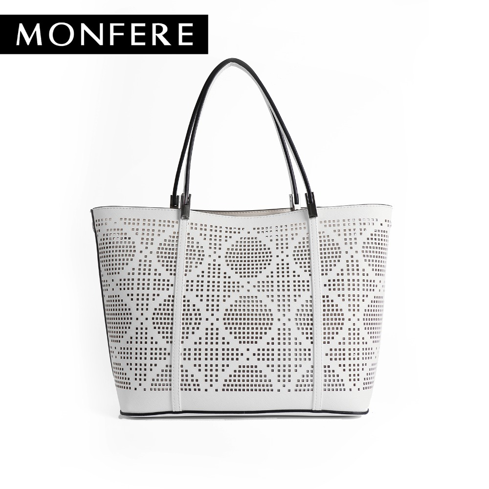 c1bd090fd31f Monfer cutout tote faux leather shopping bucket bag designer jpg 1000x1000  Faux leather designer handbags