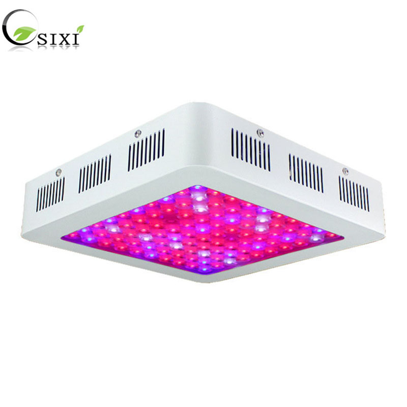 LED Grow Lights Full Spectrum 600 1200W Fitolamp Hydroponics Phyto Lamp dual nuclear For Flowers Seedlings