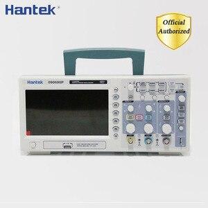 Image 1 - Hantek DSO5102P DSO5202P ملتقط الذبذبات الرقمي 100MHz 200MHz 2 قنوات الكمبيوتر USB يده Osciloscopio أدوات كهربائية محمولة