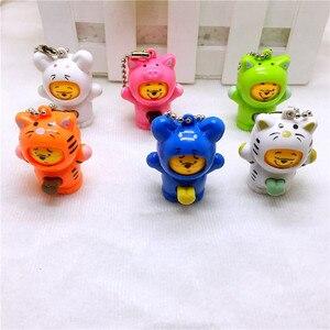 Śmieszne zabawki dekompresyjne nowa maska-zmiana śliczne mini zwierząt lalki dekoracji brelok dla model wykonany twarzy działania