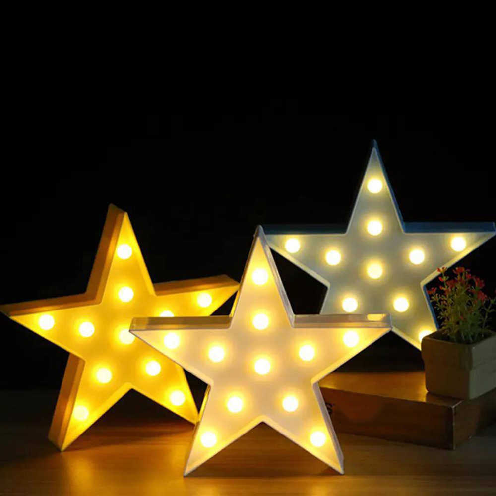 Belle Led 3d lumière nuage étoile lune veilleuse enfants cadeau jouet pour bébé enfants chambre Tolilet lampe décoration éclairage intérieur