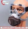 Máscara de polvo del respirador nivel KN95 anticontaminación máscara contra el polvo PM2.5 anti-polvo del respirador de partículas de Humo de seguridad en el trabajo
