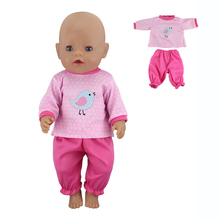 Baby New Born Doll Clothes Accessories for 43cm Dolls Clothes Set Baby Toys 17 Inchs Doll Clothes Children's Birthday Gift new saliva towel wear for 43cm baby born zapf 17 inch dolls accessories