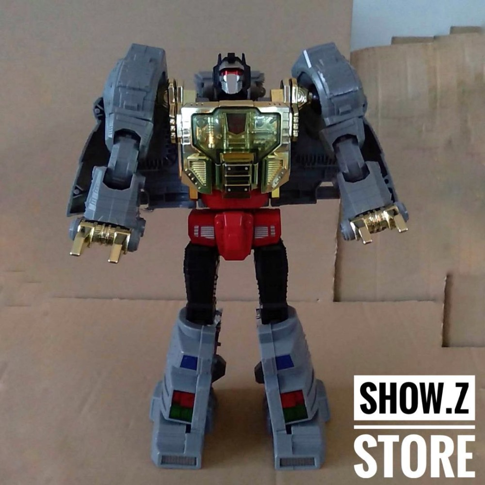 все цены на [Show.Z Store] 4th Party G1 Grimlock Japanese Version Color Scheme Oversized MP08 Transformation Action Figure онлайн