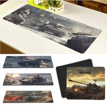 Maiya High Quality World Of Tank gamer play mats Mousepad Free Shipping Large Mouse Pad Keyboards Mat(China)