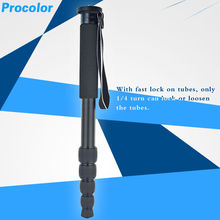 Mini Tripod Lightweight aluminum Extendable 5section Foldable Portable Design Monopod Original for Digital Camera Camcorder