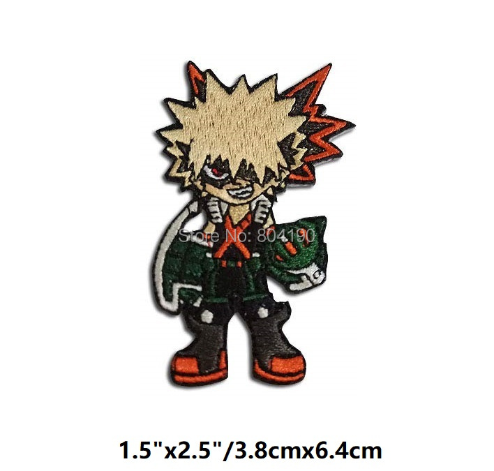 My Hero Academia Team Patch Set Of 3 Iron//Sew On Patch