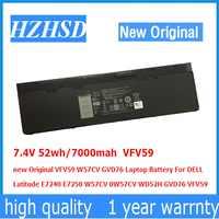 7.4 V 52wh/7000 mah VFV59 nuovo Originale Batteria Del Computer Portatile Per DELL Latitude E7240 GVD76 W57CV E7250 W57CV 0W57CV WD52H GVD76