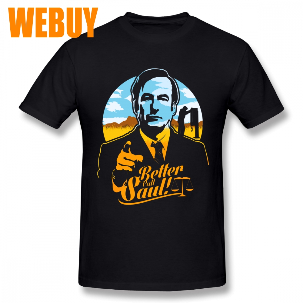 Rock And Roll Better Call Saul Tee Shirt For Men Stylish O-neck T Shirt Summer Breathable Top design Fashion