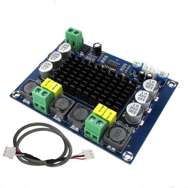 TPA3116D2 Verstärker Audio Board Dual-Kanal Stereo Hight Power Digital Verstärker 2*120 watt XH-M543 Amplificador DIY