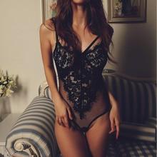 Sexy women lace bodysuit