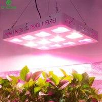 Удара светодиодный светать 600 W 1200 W полный спектр светодиодный завод расти лампы Панель для комнатных растений все стадии рассада для выращ...