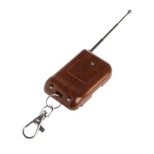 Image 5 - 0 50m 1 CH RF kablosuz RF uzaktan kumanda tek düğme anahtarı verici 315 MHz/433 MHz yeni