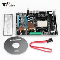 AMZDEAL Superior Quality High Speed Expansion Board Motherboard Mining Machine for AM3 Socket AM3 PCB Board Black Mainboard