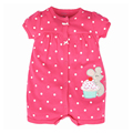2016 Summer Baby Rompers Short Sleeve Newborn Jumpsuits Infant Boy Body Suit Clothing Set Outfits Roupas Bebes Baby Girl Clothes