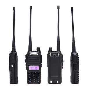 Image 2 - 2pcs BaoFeng UV 82 5W Walkie Talkie Dual Band VHF/UHF Double PTT BAOFENG uv 82 Amateur portable Radios