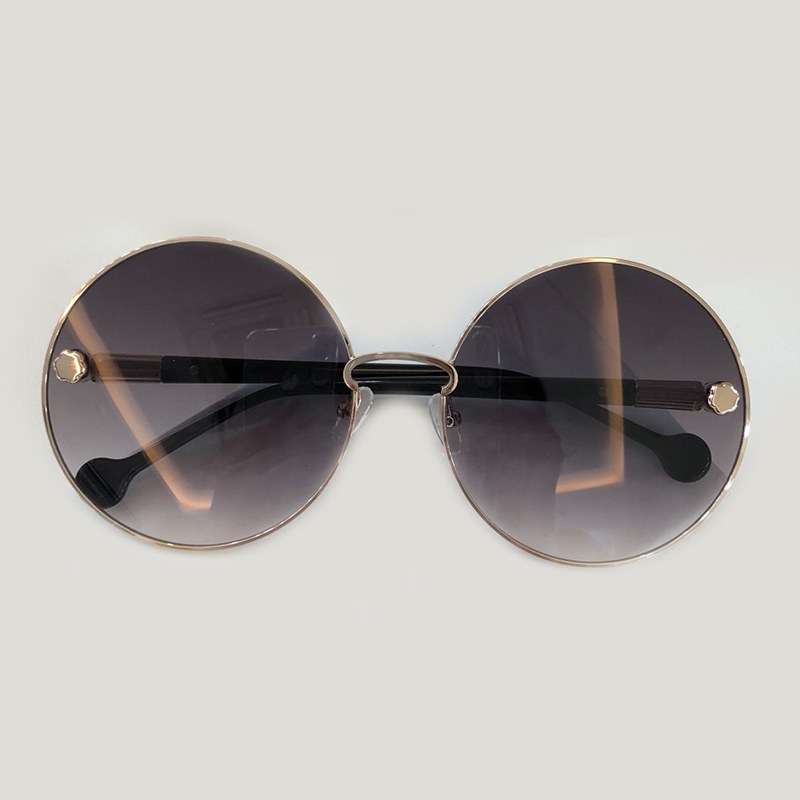 Vintage Alloy Frame Round Sunglasses Women 2019 High Quality Polarized Sunglasses UV400 Shades Oculos De Sol