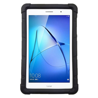 Custom Silicone Rugged Case For Huawei MediaPad T3 8 0 With Built In Handstrap Model KOB