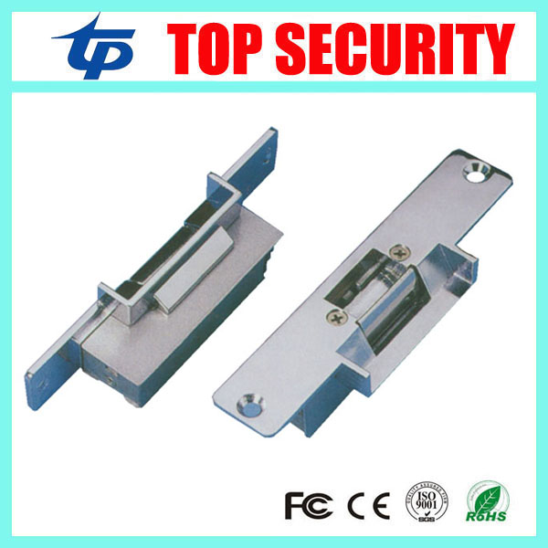 Fail safe NC-type DC12V door release electric strike door lock for access control video door phone systems good quality lock yli best quality standard type electric strike lock fail safe electric door lock access control lock ys130nc nc lock