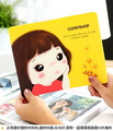 100Pcs Cartoon Girls Mouse Pad Women Play Computer Gaming Mousepad Laptop / Notebook Mouse Mat Gamer Pad to Mouse Free Shipping